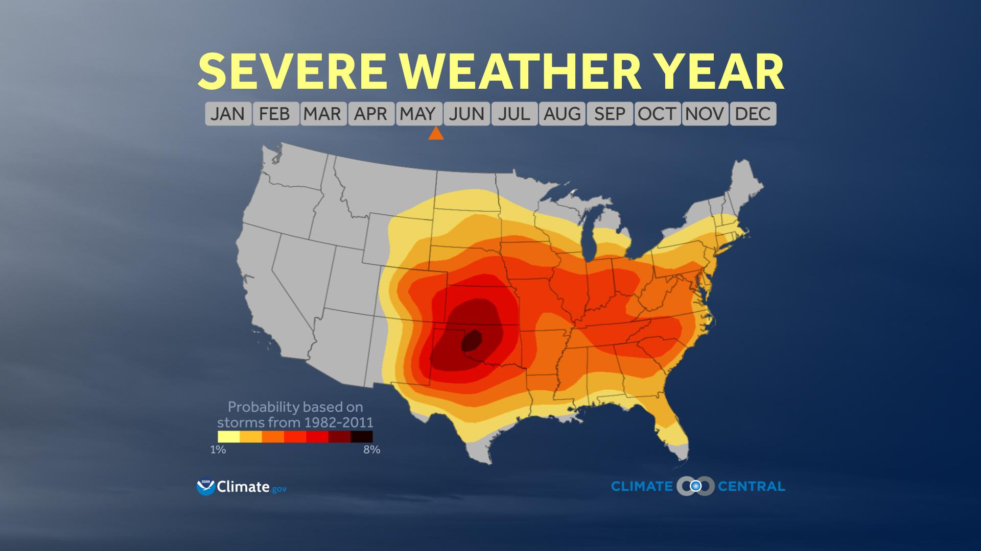 Severe Weather Climatology (4/29/15)