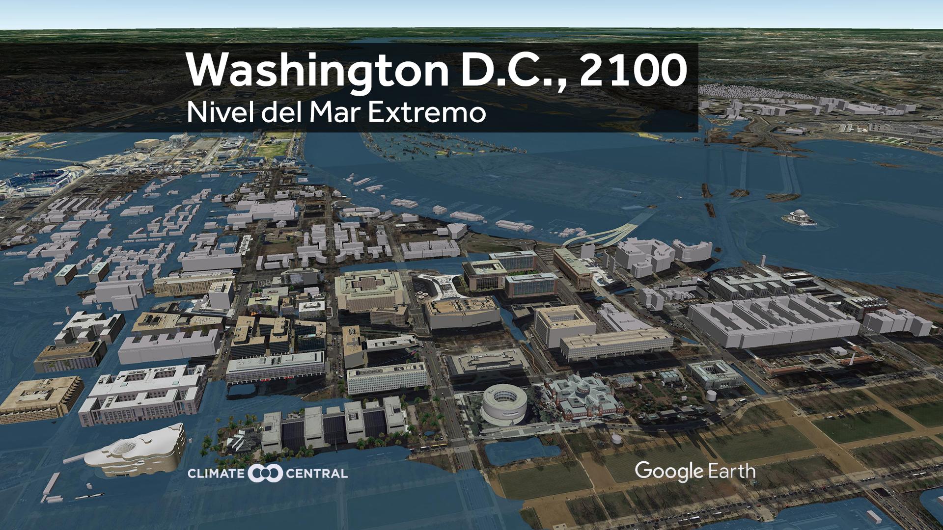 washington DC under water