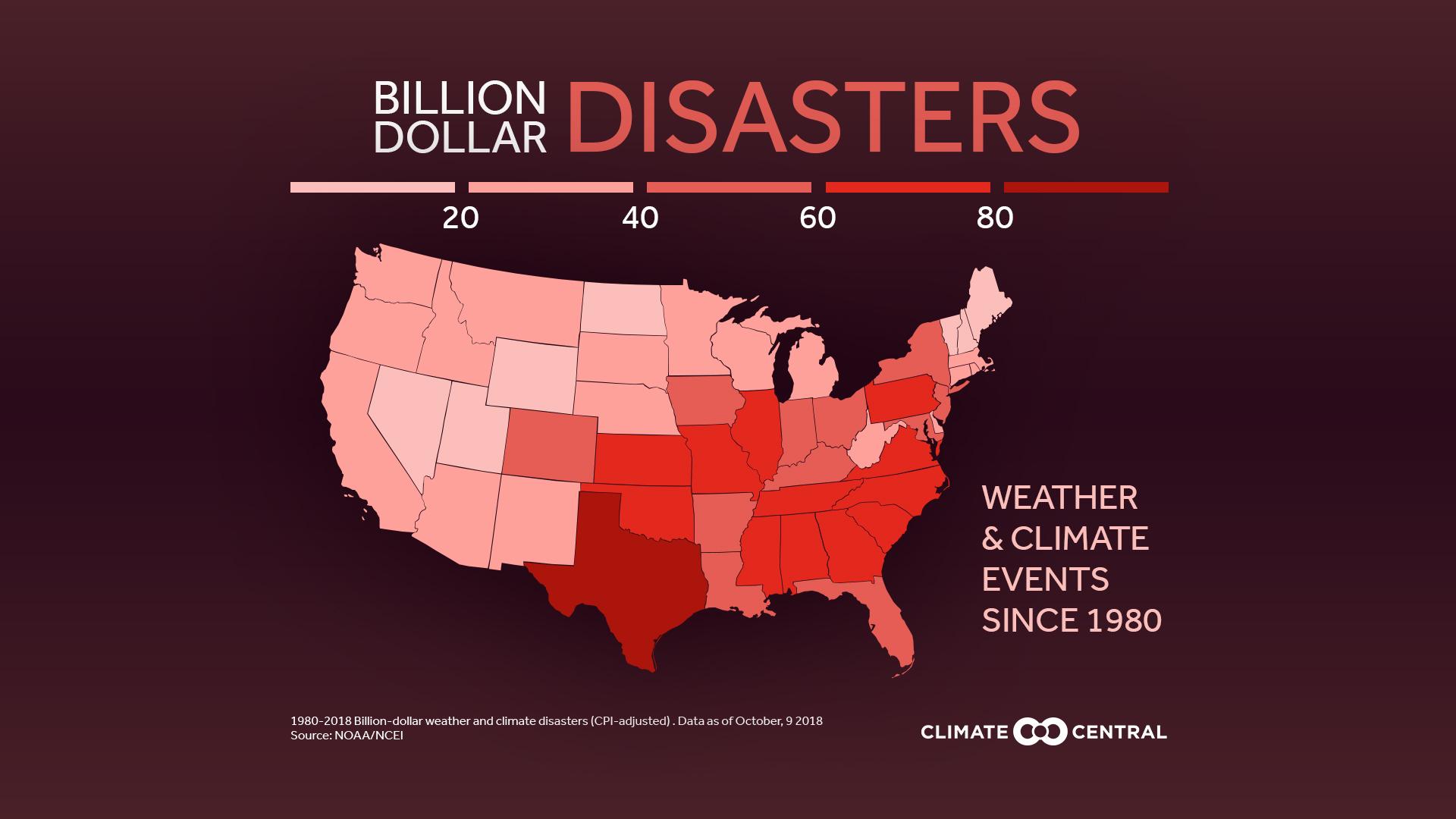 billion dollar disasters map