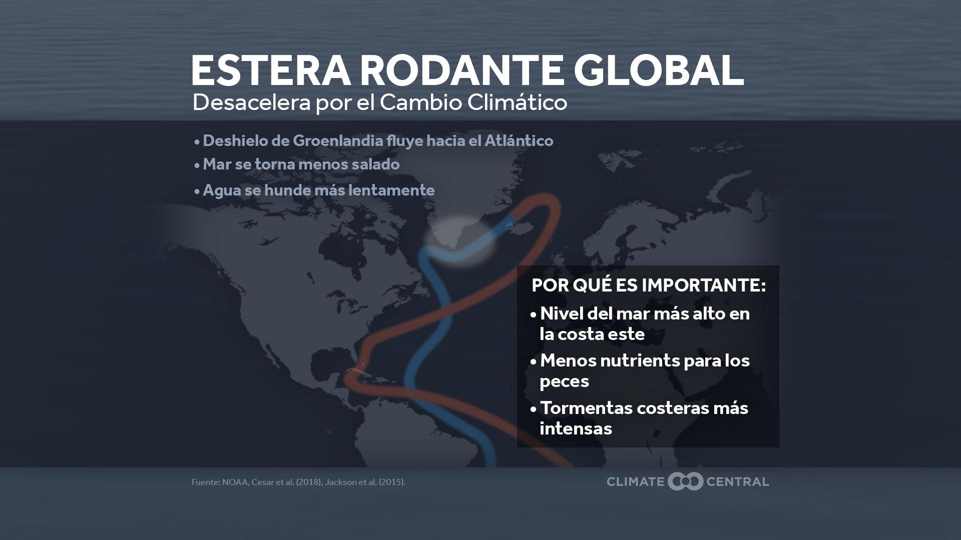 ocean circulation - impacts