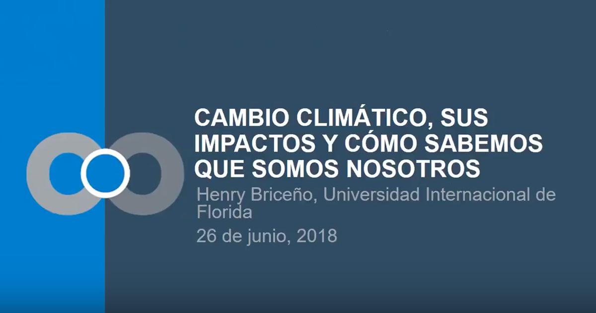 Climate Change Impacts & How We Know It's Us: En Español