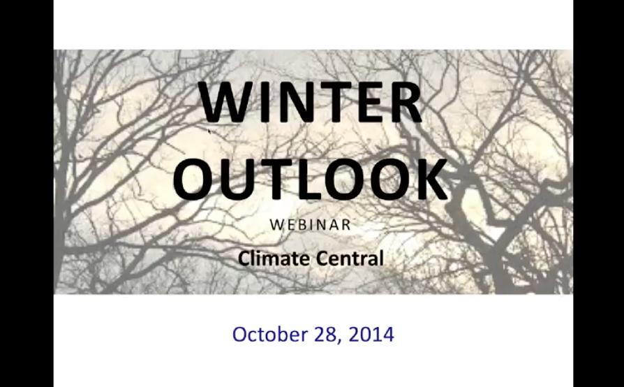 U.S. Winter Outlook, 2014-2015